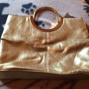 Bags - Gold evening bag